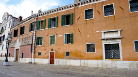 Old buildings architecture in Venice Royalty Free Stock Image