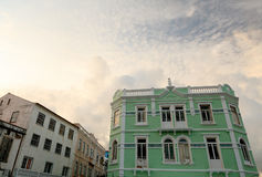 Old buildings in Azores Islands Royalty Free Stock Photography
