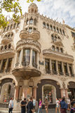 Old buildings Barcelona Stock Photography