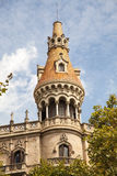 Old buildings Barcelona Royalty Free Stock Photos