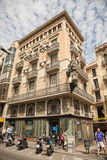 Old buildings Barcelona Royalty Free Stock Image
