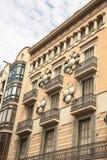 Old buildings Barcelona Stock Image
