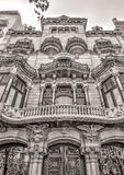 Old buildings at Barcelona Stock Photography