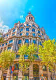 Old buildings at Barcelona Royalty Free Stock Image