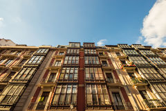 Old buildings in Bilbao Royalty Free Stock Photo