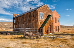 Old buildings in Bodie ghost town, California Royalty Free Stock Photography