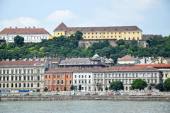 Old buildings of Budapest Royalty Free Stock Photo
