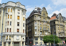 Old buildings of Budapest Stock Images
