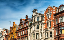 Old buildings in central London, UK.  Royalty Free Stock Photography