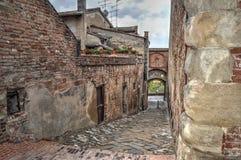Old buildings in Certaldo Royalty Free Stock Photos