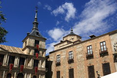 The old buildings, the city of Toledo, Spain Stock Photo