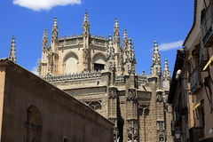 The old buildings, the city of Toledo, Spain Stock Images