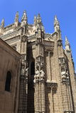 The old buildings, the city of Toledo, Spain Royalty Free Stock Photography