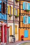 Old buildings in Colmar, Alsace, France. Picture of colorful old buildings in Colmar, Alsace, France Stock Image