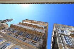 Old buildings in Corfu Stock Images