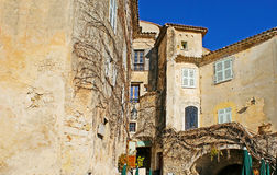 The old buildings of Eze Royalty Free Stock Photography
