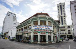 Old buildings at Georgetown in Penang, Malaysia Stock Photography