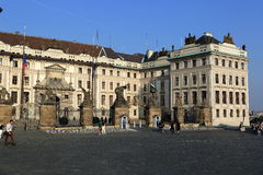 The old buildings on the grounds of Prague Castlein Hradcany, Czech republic Stock Photography