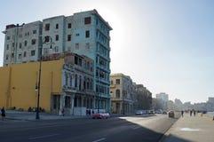 Old buildings in Havana Stock Images