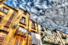 Old buildings in hdr Royalty Free Stock Image