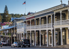 Old buildings in the historical center of Sutter Creek Stock Images