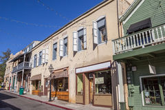 Old buildings in historical Nevada City Royalty Free Stock Photography