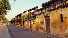 Old buildings in Hoi An Royalty Free Stock Photo