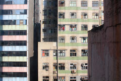 Old buildings in Hong Kong Stock Photography