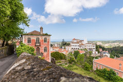 Old Buildings and houses in Sintra, Portugal Royalty Free Stock Images
