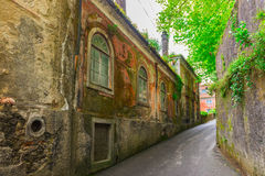 Old Buildings and houses in Sintra Royalty Free Stock Photo