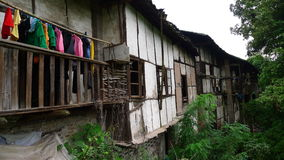 The old buildings in hunan,china. Some typical old building in south of china stock photo