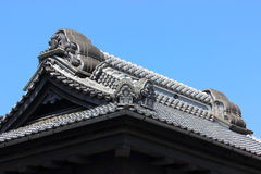 Old buildings in Japan stock image