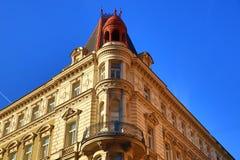 Old Buildings, Jindřišská Street, New Town, Prague, Czech Republic Royalty Free Stock Image