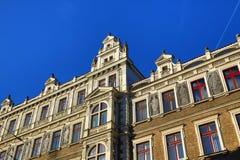 Old Buildings, Jindřišská Street, New Town, Prague, Czech Republic Stock Photo