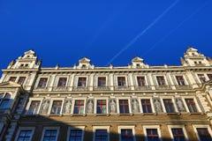 Old Buildings, Jindřišská Street, New Town, Prague, Czech Republic Royalty Free Stock Images