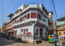 Old buildings in Jodhpur, India royalty free stock photography