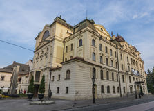 Old buildings on Kosice main square Royalty Free Stock Photography