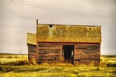 Old buildings in Western North Dakota. Old buildings left in western North Dakota Stock Photo