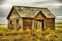 Old buildings in Western North Dakota. Old buildings left in western North Dakota Royalty Free Stock Image