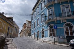 Old buildings in Lisbon, Portugal Royalty Free Stock Image