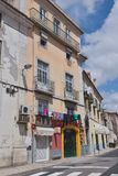 Old buildings in Lisbon, Portugal Stock Image