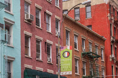 Old buildings in little Italy, New York Royalty Free Stock Photography