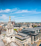 Old buildings of London, UK Royalty Free Stock Photography