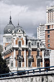 Old buildings in Madrid, Spain Stock Photography