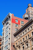 Old buildings in Manhattan, NYC Stock Photo