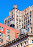 Old buildings in Manhattan, NYC Royalty Free Stock Photography
