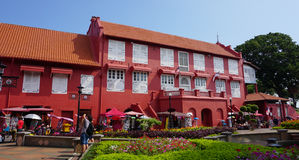 Old buildings in Melaka, Malaysia Royalty Free Stock Images