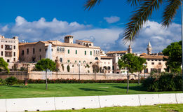 Street view in Palma de Majorca royalty free stock photos