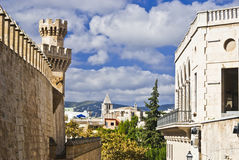 Street view in Palma de Majorca Royalty Free Stock Photography