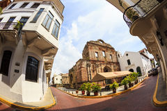 Old buildings  of Panama City, Stock Photo